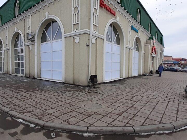 тонировка окон магазина
